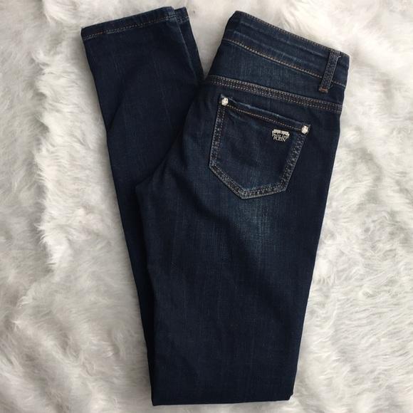 80a16c318f Philipp Plein slim skinny jeans dark wash distress